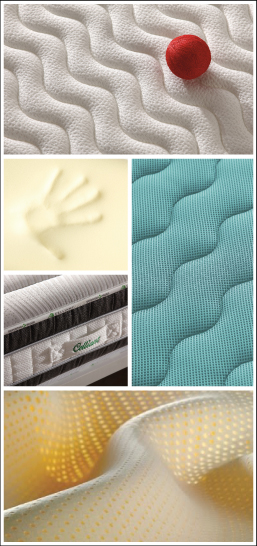 Materiales innovadores de alta calidad para colchones
