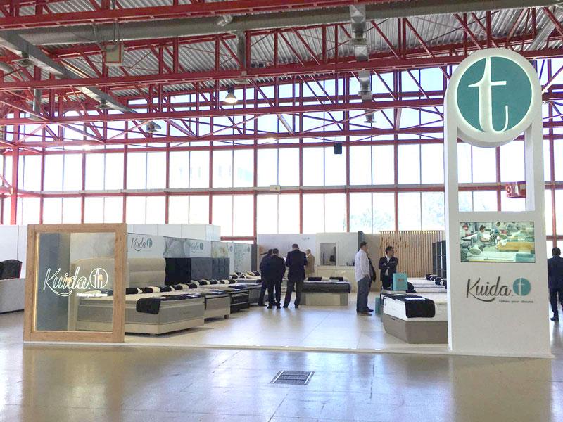 Stand de Kuida-t | Feria Profesional del Mueble – Madrid 2016