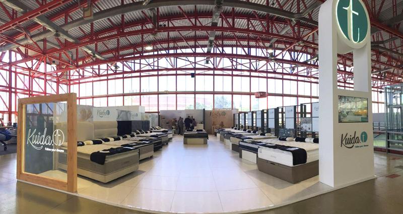 Stand de Kuida-t | Feria Profesional del Mueble - Madrid 2016