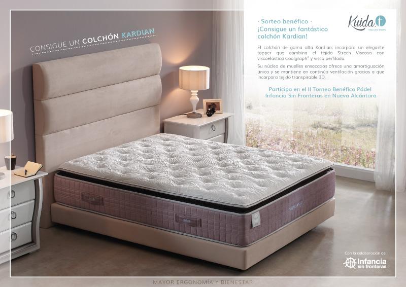 Sorteo benéfico colchón alta gama Kardian