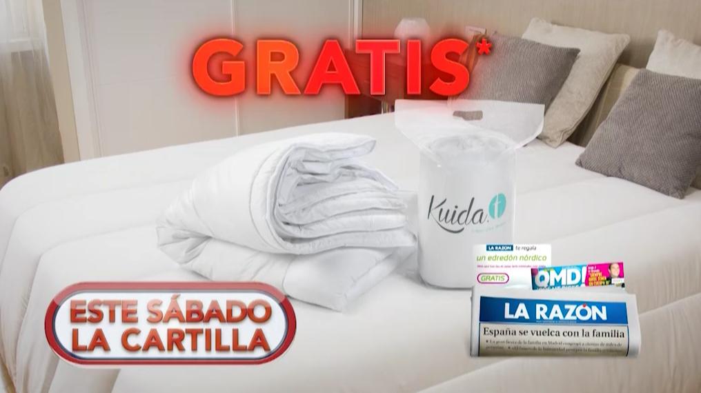 Edredón Kuida-t La Cartilla diario La Razón