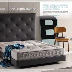 Gana un colchón Kambo en la cena benéfica de ADACEA