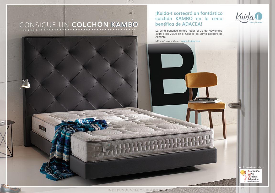 Sorteo benéfico colchón Kambo ADACEA