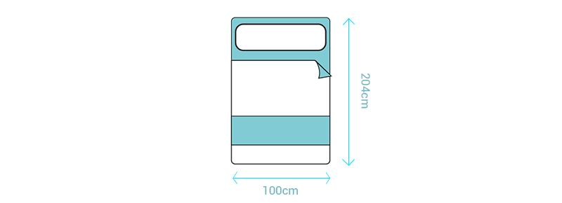 Tamaño colchón individual especial