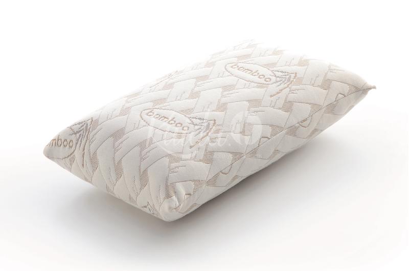 almohada de viaje con bloque viscoelástico