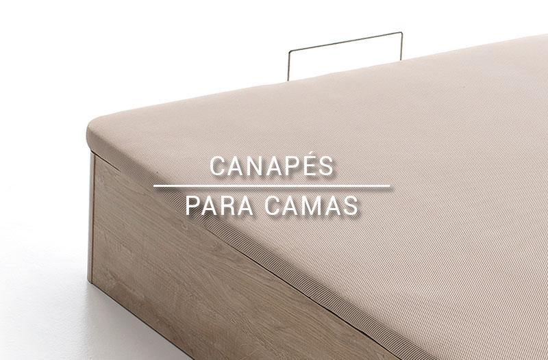 Detalle canapés para camas
