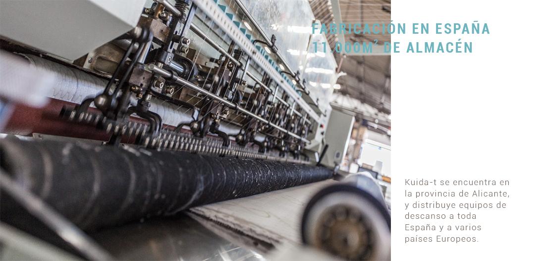 Los colchones Kuida-T están fabricados en España