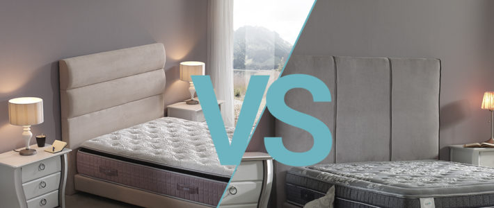 COMPARATIVA COLCHONES: ¿Colchón viscoelástico o muelles ensacados? ¡Compara y elige!