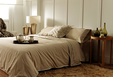 las sábanas son muy importantes para conseguir la temperatura ideal para dormir